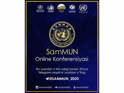Samarqand BMT modeli onlayn konferensiyasi