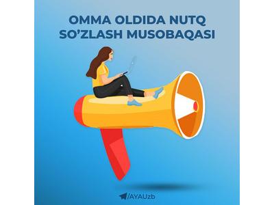 Omma oldida nutq soʻzlash musobaqasi