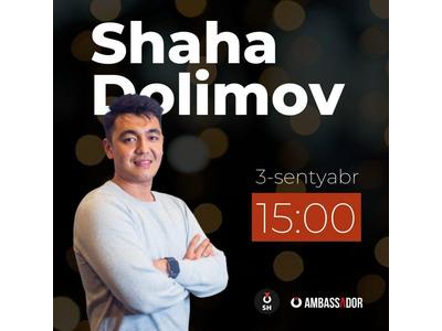 Marketolog, vloger Shaha Dolimov bilan suhbat