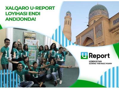 U-Report loyihasi Andijon boʻlimida volontyorlik