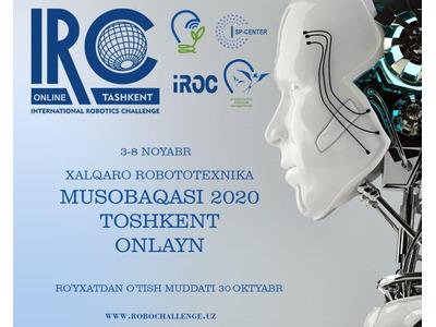 Xalqaro Robotexnika musobaqasi 2020