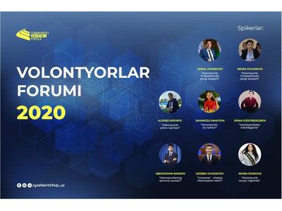 Volontyorlar forumi — 2020
