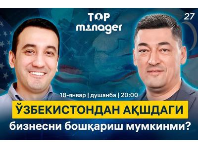 Top Manager loyihasidan