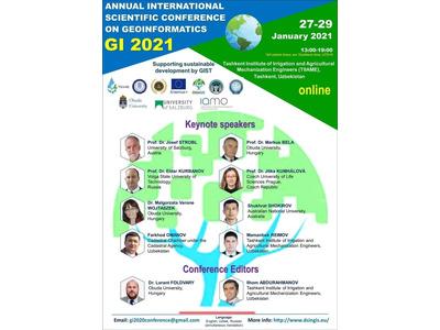 Geoinformatika bo'yicha an'anaviy xalqaro GI 2021 konferensiyasi