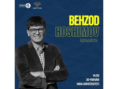 Iqtisodchi Behzod Hoshimov bilan Modul5 loyihasining 2021-yildagi ilk soni