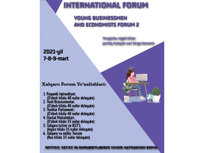 Youth businessmen and economists forum