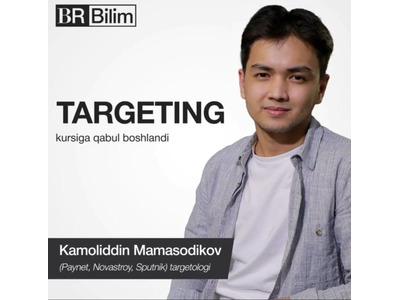 BR Bilimdan Targeting bo'yicha ochiq dars
