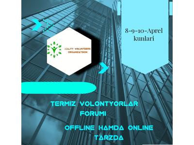 Termiz volontyorlar forumi
