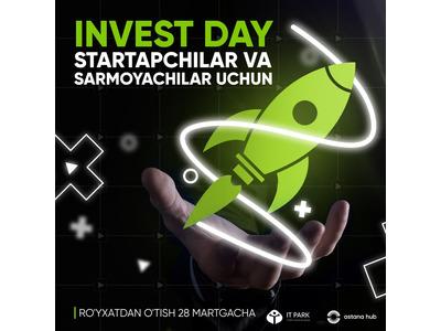 """IT Park'ning Qozog'istonlik hamkorlari """"Astana Hub"""" """"Invest Day"""" onlayn tadbirlari"""