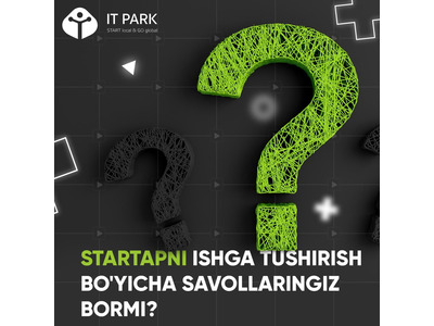"IT Parkdan ""Startup Advice"" onlayn mitapi"