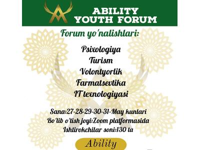 Ability Youth forum 7 mavsum
