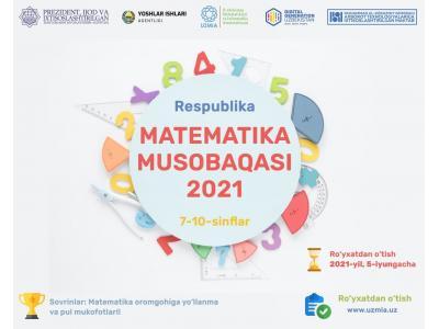 Respublika matematika musobaqasi 2021