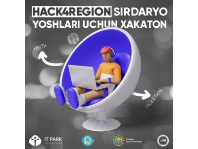 HACK4REGION Sirdaryo yoshlari uchun xakaton