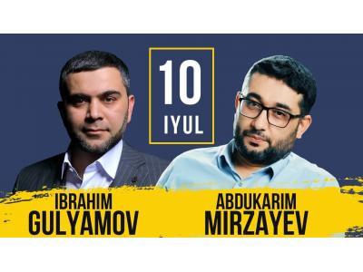 Abdukarim Mirzayev va Ibraxim Gulyamov bilan ochiq suhbat