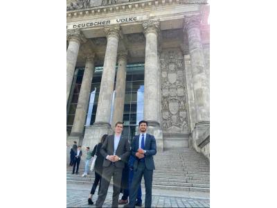 Встреча со стипендиатами на тему «Как получить международную стипендию от парламента Германии?»