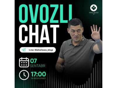 Tadbirkorlar uchun Alisher Isayev bilan  ozovli chat