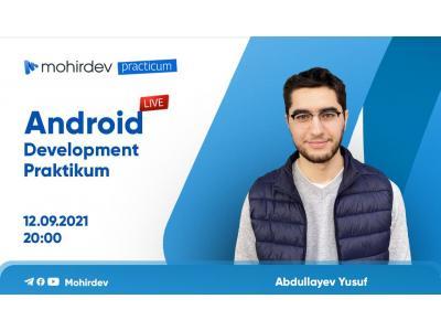 Android Development Praktikum taqdimoti