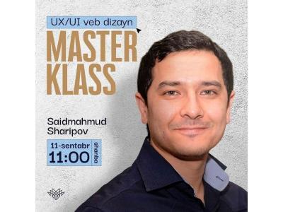 UX/UI veb dizayn bo'yicha master klass