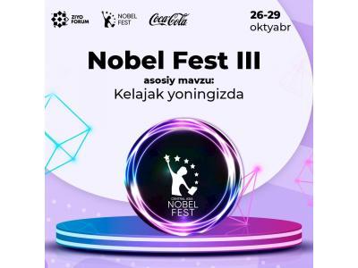 Markaziy Osiyo talabalari uchun Nobel Fest III festivali